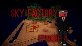 SkyFactory - Episode 4 - COBBLE EN MASSE !!!