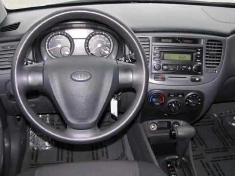 2006 Kia Rio 4dr Sdn Lx Auto Youtube