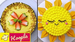 Sun Cake + More Easy Cake Decorating Ideas | DIY by Hoopla Recipes