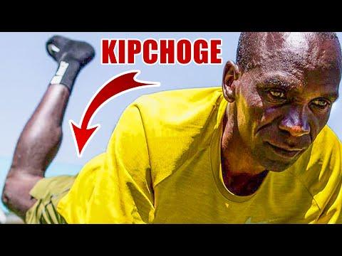 I tried ELIUD KIPCHOGE'S CORE STRENGTH workout...
