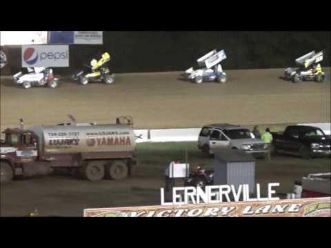 AJ Flick 410 Sprint Lernerville Speedway May 26, 2017