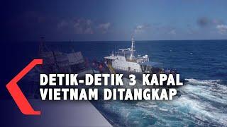 Sengit! Detik-Detik Anak Buah Edhy Prabowo Tangkap Kapal Vietnam di Natuna