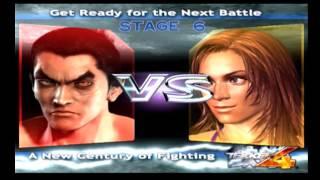 Tekken 4 - Time Attack - Kazuya thumbnail