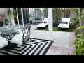 Black White Patio Decor Ideas - Easy Cheap Makeover TIPS and TRICKS!