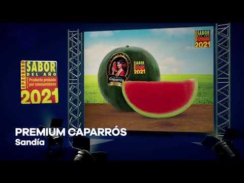 Sandía PREMIUM CAPARROS premiada como Sabor del Año 2021