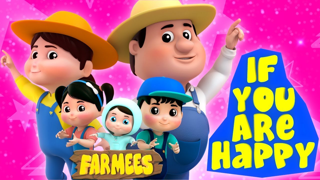 If You Are Happy | Songs For Children | Nursery Rhymes For Toddlers by Farmees