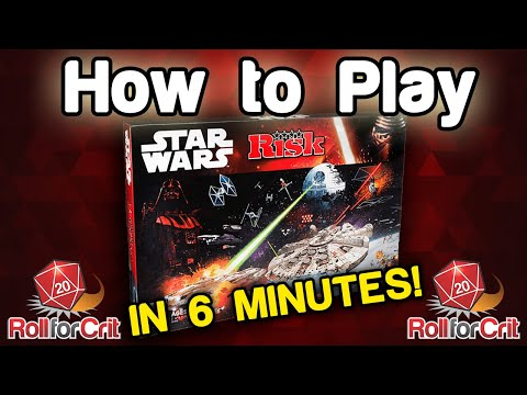 How to Play Star Wars Risk | Roll For Crit