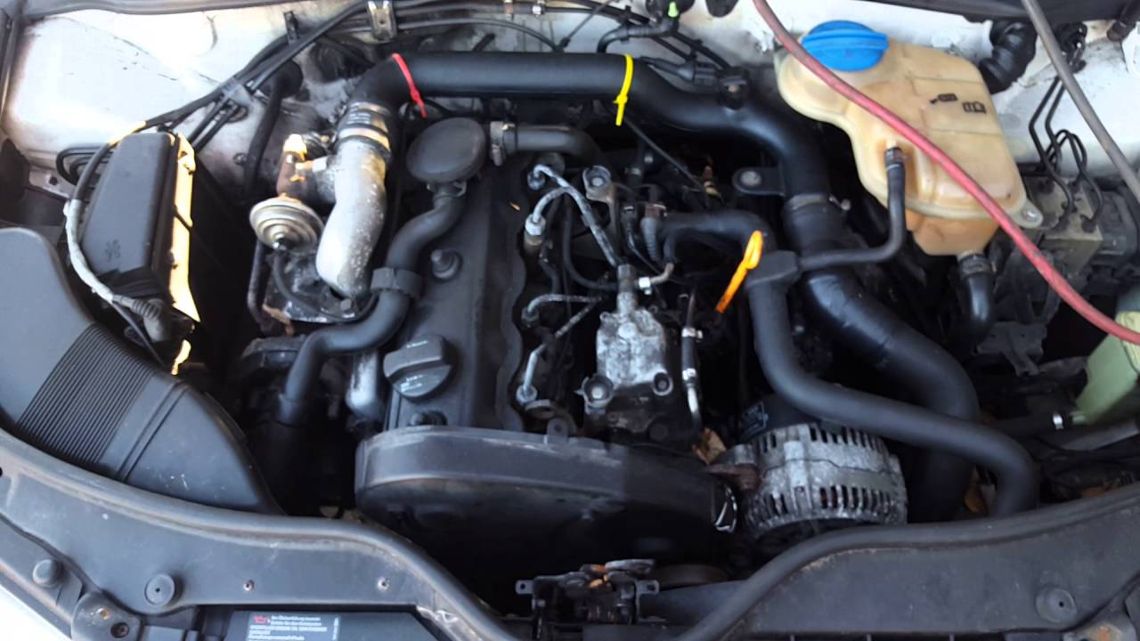 Контрактный двигатель Volkswagen (Фольксваген) 1.9 AHH / AHU | Где купить? | Тест мотора