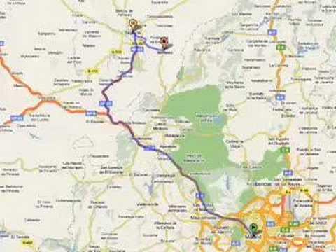 Como Encontrar El Camino En Google Maps Youtube