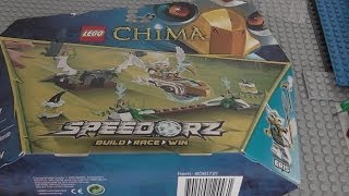 Lego Chima Sky Launch Speedorz Review: 70139