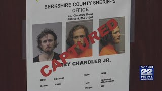 Escaped inmate Harry Chandler Jr. captured in Pittsfield