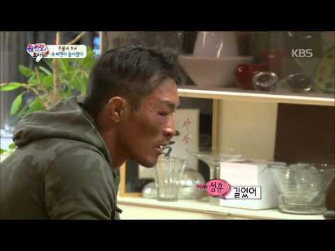 [HIT]슈퍼맨이돌아왔다-추성훈 복귀전 승리 '눈물의 축하파티'.20141012