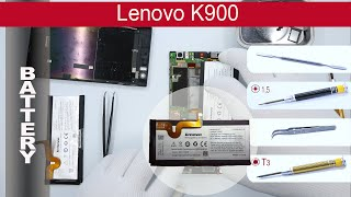 How to replace 🔧  🔋 📱 Battery Lenovo K900, Tutorial(, 2015-04-04T16:00:55.000Z)
