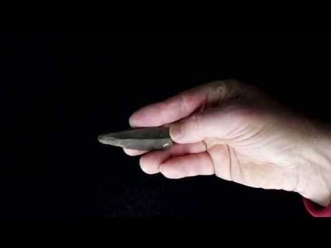 Stone Age Tools, Upper Palaeolithic Spear Point