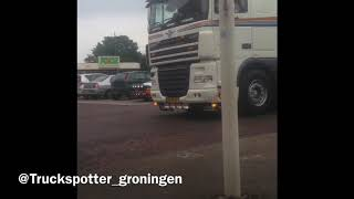 Truckrun 2e exloërmond 2018 V8 Geluiden