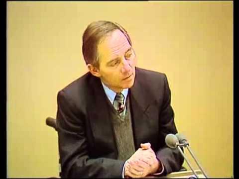 Wolfgang Schäubles Rede für Berlin 1991
