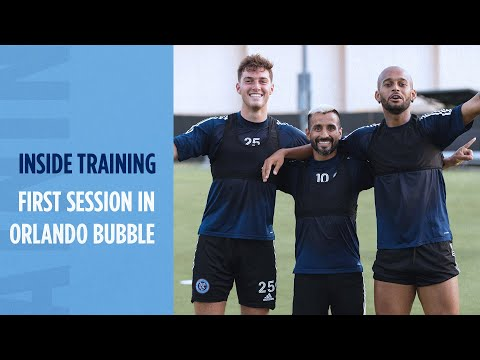 First Session In Orlando Bubble | INSIDE TRAINING