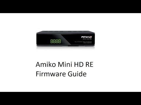 Amiko Mini HD RE -- Firmware Upgrade And Saving Defaults