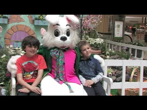 The Easter Bunny In Modesto, California - The Vintage ...