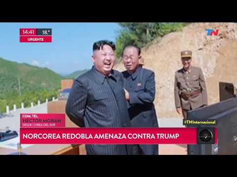 Norcorea redobla la amenaza contra Trump