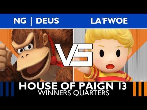 [House of Paign 13] Winners Quarters: NG   DeuS (DK) vs. La'Fwoe (Lucas)