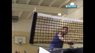Чемпионат по настольному теннису(Турнир по настольному теннису во Власихе. 25-26 октября 2014, видео Дмитрия Зыкова для телеканала