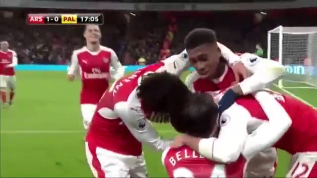Arsenal 2-0 Crystal Palace | Latest Football Highlights Januari 2017