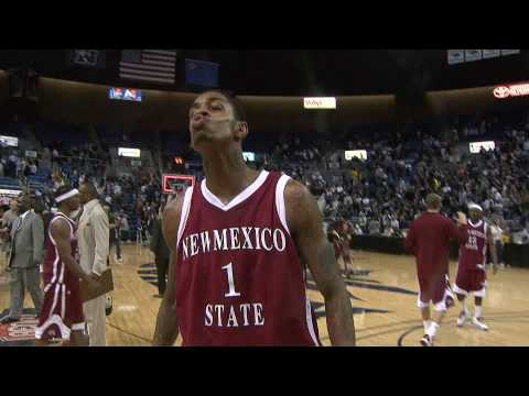 NM State MBB vs Nevada  - March 12th, 2010