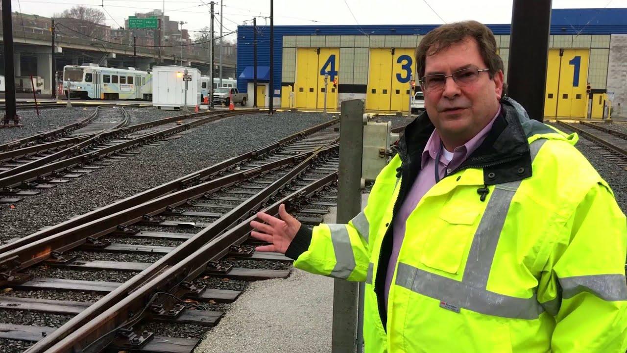 sc 1 st  YouTube & Light Rail Automated Yard Switch - YouTube