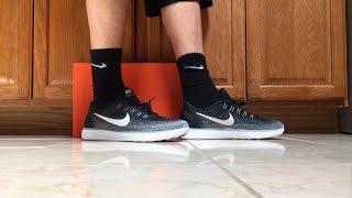 Nike Free RN Distance On Feet