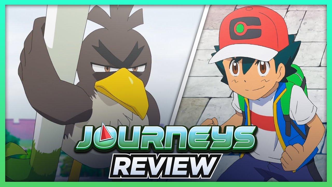 ASH CATCHES GALARIAN FARFETCH'D! | Pokémon Journeys Episode 27 Review
