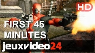 Deadpool - First 45 Minutes HD Gameplay (PC, 360, PS3)