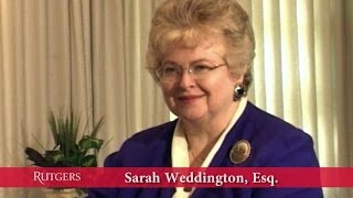 Conversation with Sarah Weddington (Talking Leadership series)