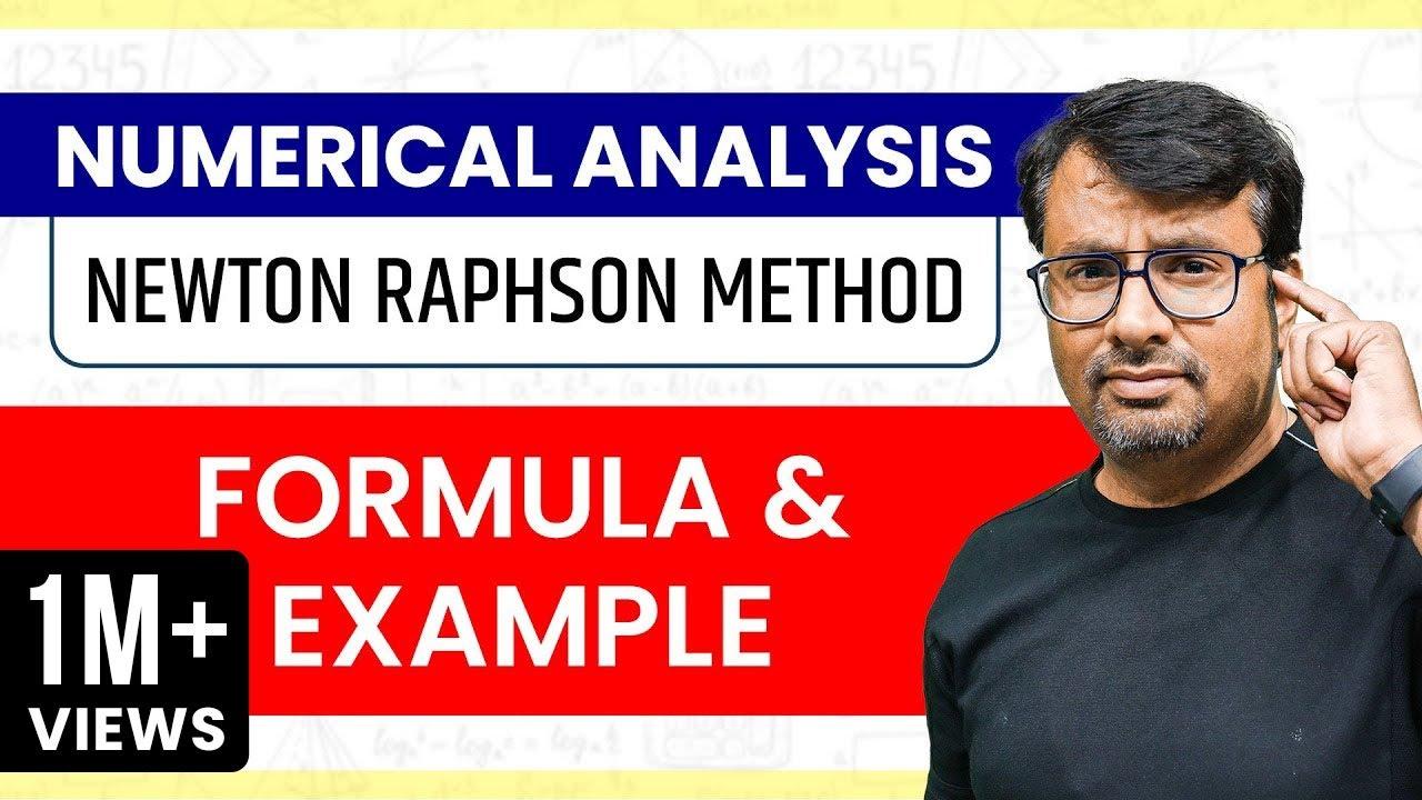 Newton Raphson Method | Numerical Methods | Formula & Example