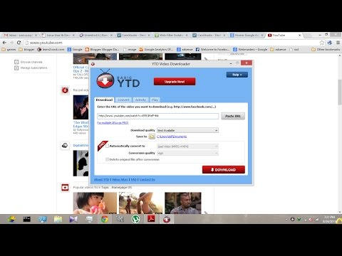 How To Download YouTube Videos Using YTD