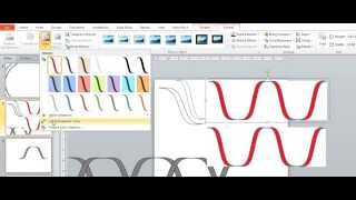 Draw a DNA Double Helix in Powerpoint