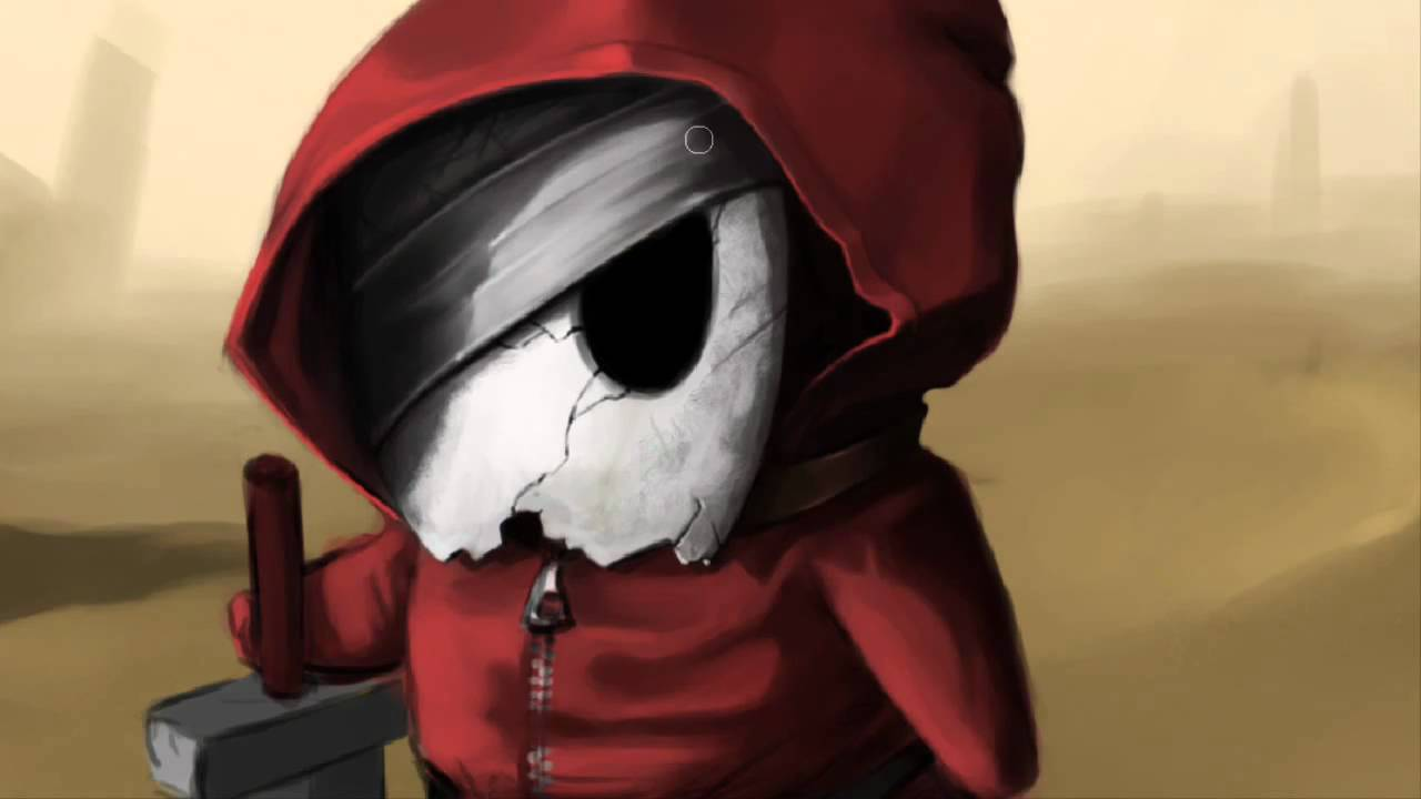 Badass Game Girl Wallpaper Timelapse Digital Painting Shy Guy Renegade Youtube