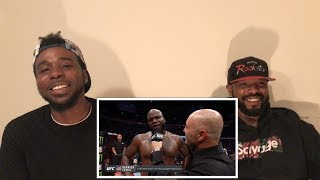 Derrick Lewis vs Alexander Volkov Highlights Reaction