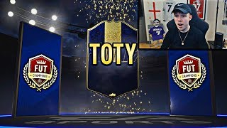CAN WE PACK A TOTY? ELITE 3 FUT CHAMPIONS REWARDS! (FIFA 19)