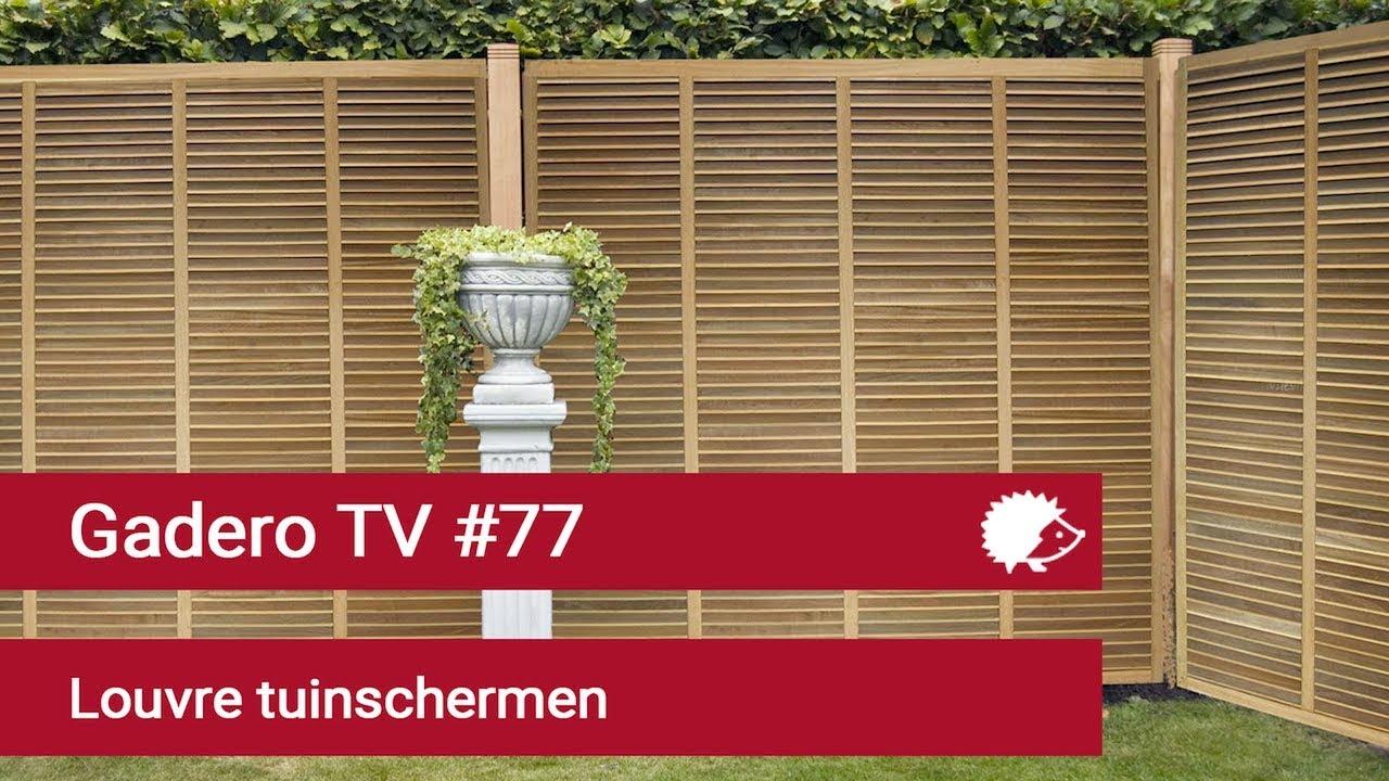 Welp Luxe Houten Louvre schermen Shutter tuinschermen hardhout JK-03