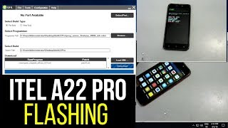 How to flash Itel A22 Pro with QFIL Flash tool