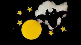 DIY 3D Halloween Bats