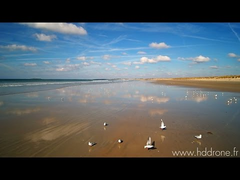 HD drone Surf Session Plouharnel Automne 2016