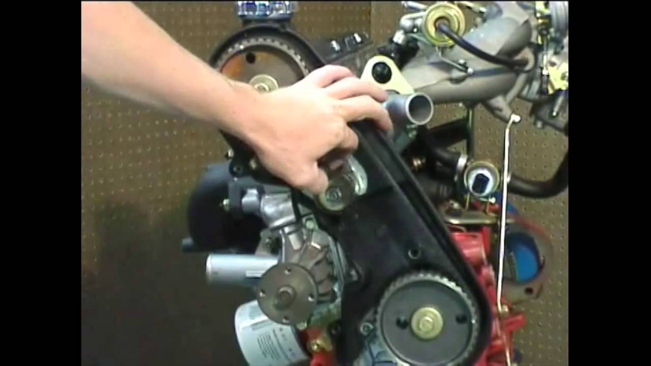 Ipd Volvo Timing Belt Replacement 200 700 900 4 Cylinder Volvos 1991 940 Engine Diagram Youtube