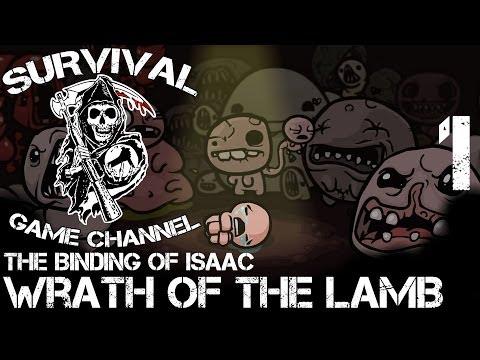 БЕЗ КАРТЫ — The Binding of Isaac: Wrath Of The Lamb прохождение [1080p] Часть 1