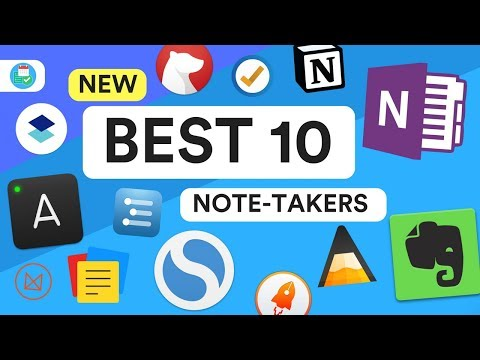 New Top 10 Note-Taking Apps 2018