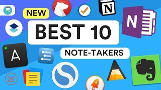 Video Top 10 Note-Taking Apps 2018 | The Best Tools download MP3, 3GP, MP4, WEBM, AVI, FLV Juli 2018