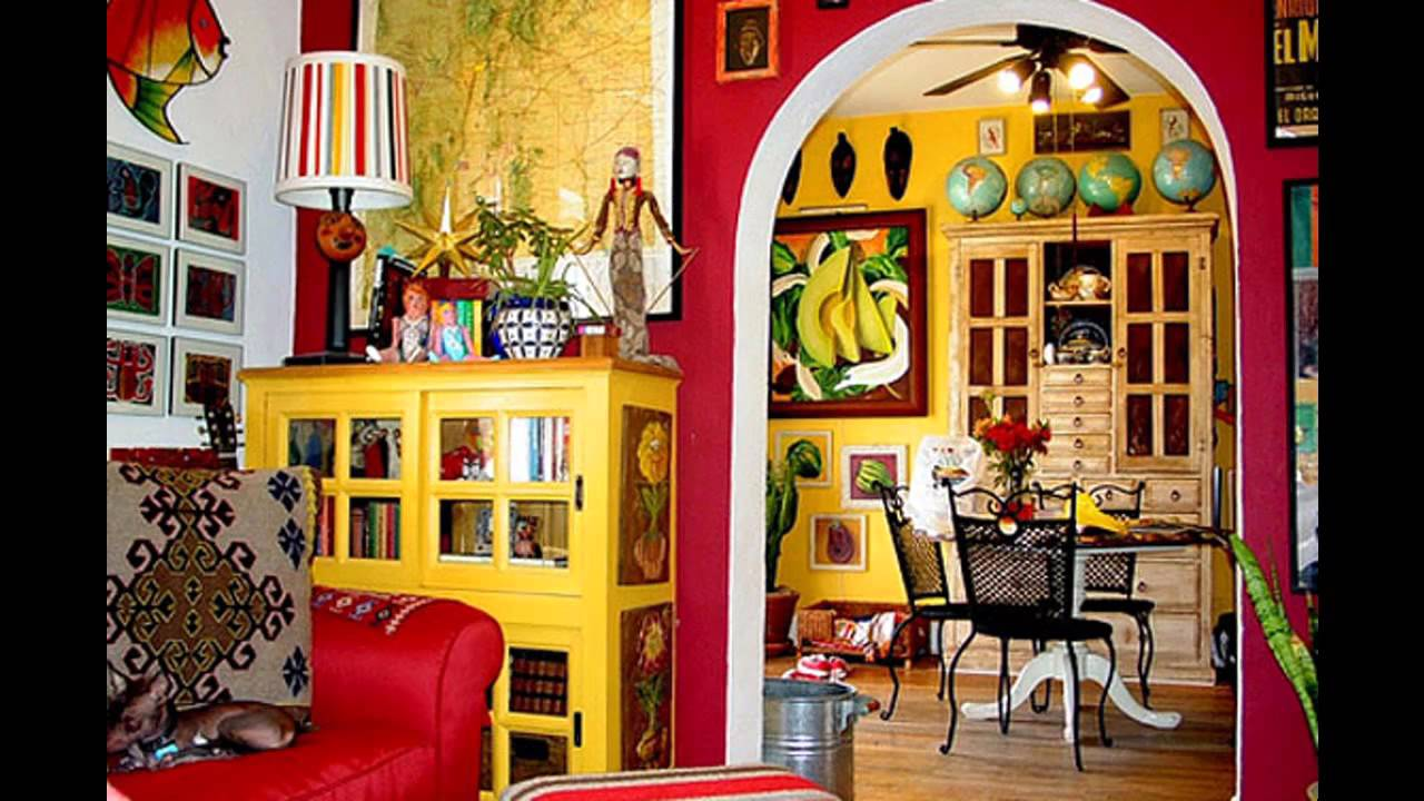 Fabulous mexican decorating ideas youtube for Mexican living room decor