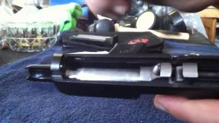 how to install new steel guide rod ruger lc9