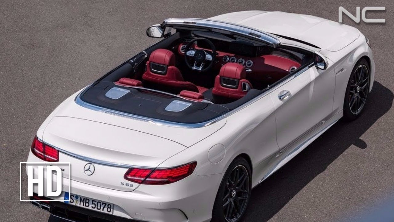 2018 MERCEDES S63 AMG CABRIOLET - YouTube